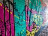 Street Art Vantaa väritti Porttipuistontunnelin